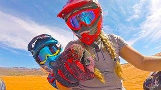 Motorbike Race For Kids!!