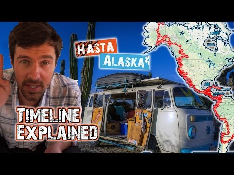 Hasta Alaska Timeline Explained