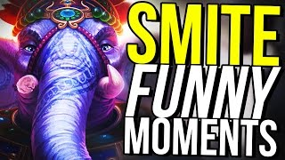 GANESHA NEW BEST SUPPORT AND CARRY! - SMITE FUNNY MOMENTS