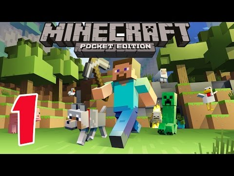 Xxx Mp4 Minecraft PE Survival Mode Gameplay Part 1 Let S Play Video Game Commentary MCPE 3gp Sex