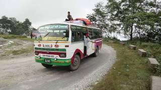 Motor gayo ghandruk gaau pakhaima| New salaijo song| Bimal Pariyar & Sanju Neupane| Shooting report