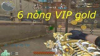 [ Bình Luận CFQQ ] Gatling Gun-Infernal Dragon Noble Gold - Tiền Zombie v4