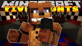 Minecraft - FIVE NIGHTS AT FREDDYS - FREDDYS PIZZERIA #1 (Custom Roleplay)