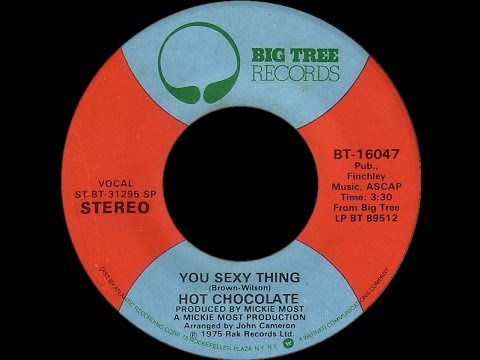 Hot Chocolate You Sexy Thing 1975 Disco Purrfection Version