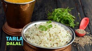 Restaurant Style Jeera Rice by Tarla Dalal