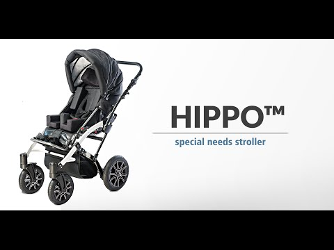 Special needs stroller Hippo+ by Akces-Med Poland