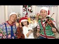 Download Video Download 聖誕歌曲串燒《Jingle Bell Rock + Santa Claus + Rudolph + Let It Snow》Family Cover【Sam Lin】 3GP MP4 FLV