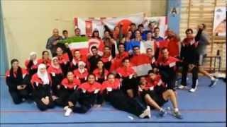 بطولة العالم لكرة السرعة ال 27 ببولندا وفوز منتحب مصر بها