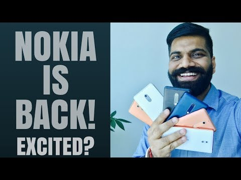 Nokia 3, 5, 6 India Launch - Hands On and First look