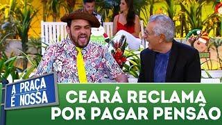 Matheus Ceará reclama da pensão do divórcio   A Praça É Nossa (07/12/17)