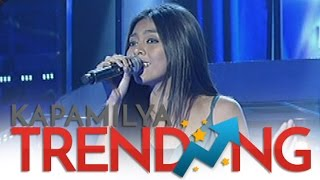 Cristal Jane Lacida sings Stand Up For Love