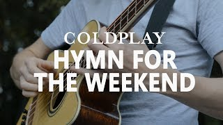 Coldplay - Hymn For The Weekend - Fingerstyle Bass Cover [FREE TABS]