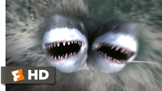 2-Headed Shark Attack (3/10) Movie CLIP - Get Out of the Water! (2012) HD