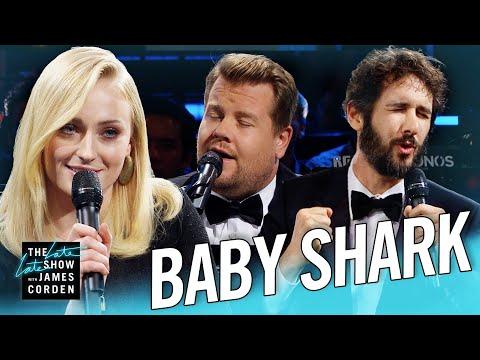 The Biggest 'Baby Shark' Ever w Sophie Turner & Josh Groban