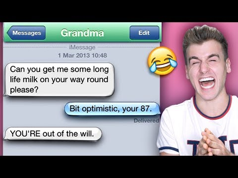FUNNIEST TEXTS FROM GRANDPARENTS