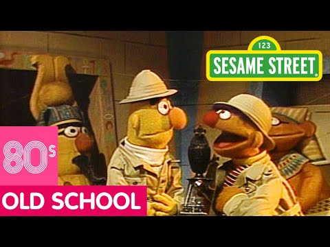 Sesame Street Bert and Ernie in a Pyramid