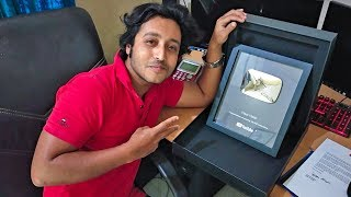 My Silver Play Button is Here #UNBOXING | Hass Hasib | Thanks #YouTube