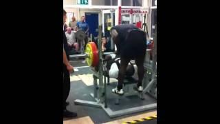 210kg Benchs Raw Gary Dada, All England Championships 2011