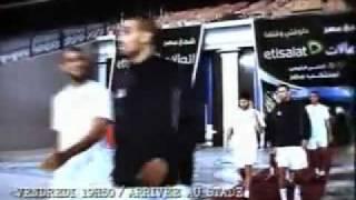 معركة مباراة الجزائر مصر في القاهرة