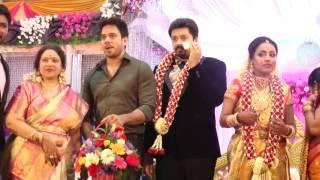 Actress Jayachitra Son Amrish Ganesh Keerthy Hanusha Wedding Reception | TOC