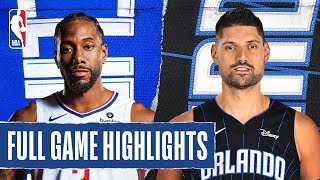 CLIPPERS at MAGIC | FULL GAME HIGHLIGHTS | January 26, 2020