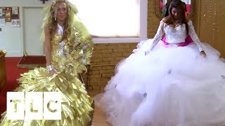 Battle of the Dresses! | Say Yes To The Dress Vs. Gypsy Brides US