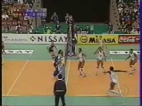 PERU VS BRASIL MUNDIAL DE VOLEY 1998