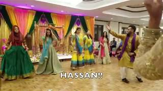 Dil Wale Mahj le Jayenge - Mehndi Day Dance