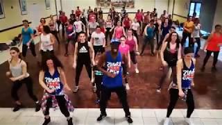 """ZUMBA® Fitness - Choreo """"Boa ME"""" Fuse ODG/Ed Sheeran by Kalidou"""