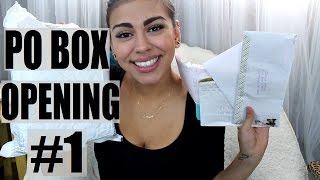PO BOX OPENING #1 | Diana Moore