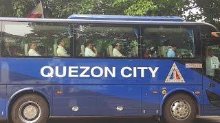 KINAKABAHAN NA SI MAYOR, Bus carried Mayors to Malacañang to meet PRRD
