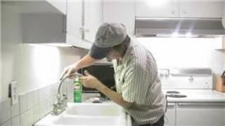 Kitchen Plumbing : How to Repair a Kitchen Faucet Spout