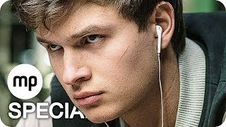 BABY DRIVER Opening, Film Clips, Featurette & Trailer German Deutsch (2017)
