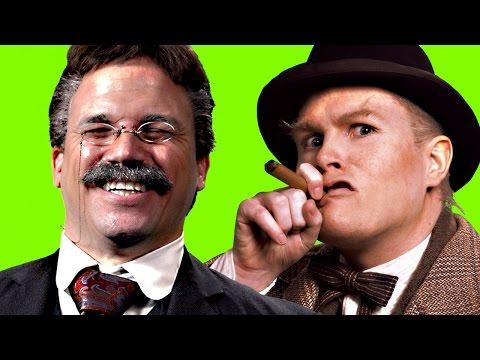 Theodore Roosevelt vs Winston Churchill. ERB Behind the Scenes