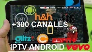 📺 Como tener TV Satelital GRATIS Android IPTV + 300 Canales PREMIUM + Lista 2016
