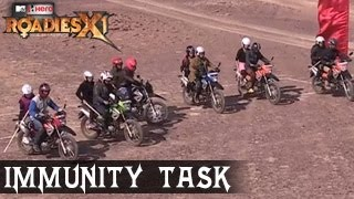 MTV ROADIES XI Ride For Respect ROADIES Fight for IMMUNITY TASK 29th march 2014 FULL EPISODE