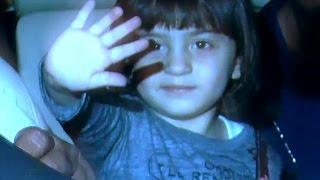 Shahrukh Khan's son Abram Khan WAVES at reporters | CUTE VIDEO