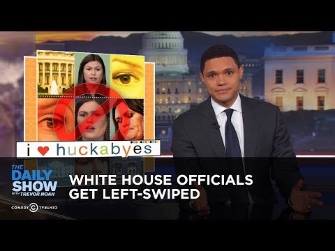 White House Officials Get Left Swiped The Daily Show