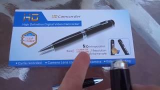 Full HD Spy Pen 1080p Test Demo Review Nexgadget Hidden Camera USB Camcorder