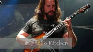 Top 10 Solos of John Petrucci