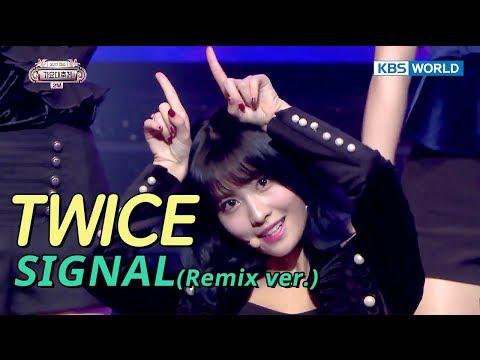 TWICE (트와이스) - Intro + SIGNAL (Remix ver.) [SUB: ENGCHN2017 KBS Song Festival(가요대축제)]