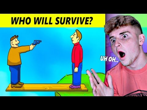 MESSED UP Mystery Riddles That Will Help Survival Skills