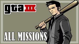 GTA 3 - All Missions   Full Game HD