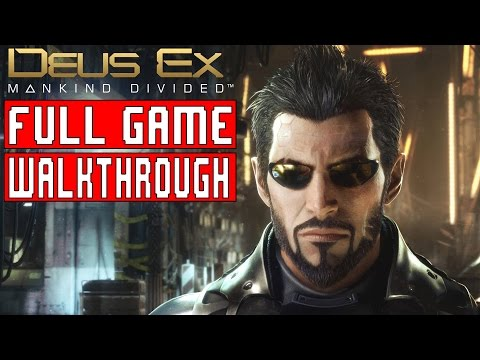 DEUS EX MANKIND DIVIDED Gameplay Walkthrough Part 1 FULL GAME (HD 1080p) - No Commentary