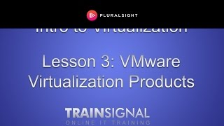 VMware Virtualization Products