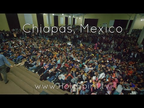 The blind see the deaf hear the lame walk and the gospel is preached in Chiapas Mexico