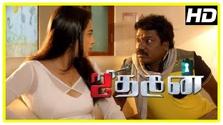 Jithan 2 movie Scenes | Srushti recollects past | Jithan Ramesh refuses to sell the house | Karunas