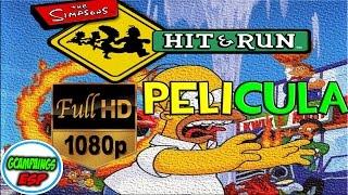 Los Simpson Hit and Run - Todas las Cinematicas Español | La Pelicula Completa 1080p