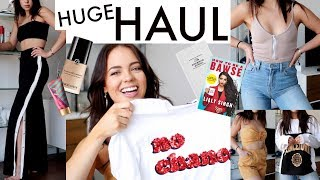 Collective TRY ON Haul: Clothing, Makeup & Books!