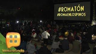 En un hecho inédito la película Roma de Alfonso Cuarón fue proyectada en Los Pinos.